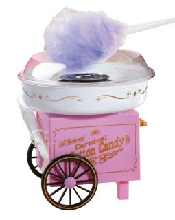 Cotton Candy Machine Maker Home CCM 905 Nostalgia Electrics Sugar