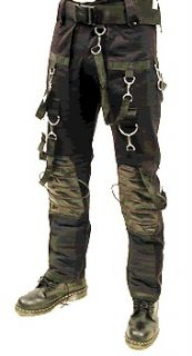 SDL mens heavy cotton ,Black cyber/gothic industrial trousers