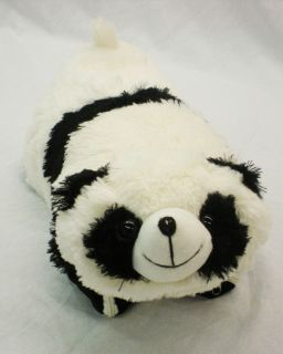 Pet 3 in1 Blanket Plush Animal Pillow ~ Soft Fleece for Kids Panda