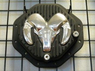Dodge Ram 03 08 9.25 REAR 12 Bolt Rams Head Black Aluminum