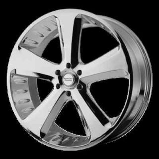 22 CHROME RIMS CIRCUIT 5X139 TIRES DODGE RAM DURANGO
