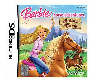 ds game barbie horse adventure for ds/ds lite/dsi/dsixl/3ds