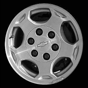 16 used Factory oem alloy wheel for 2003 2007 Chevrolet Silverado