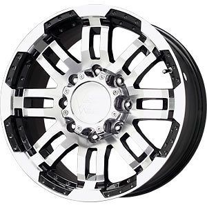 New 17 VISION Wheels/Rims Chevy Silverado Suburban