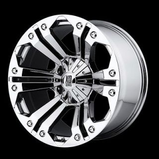 18 Inch Chrome Rims Wheels Ford F150 Truck Expedition 6x135 XD Series