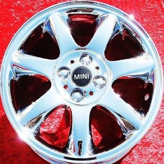 NEW 16 MINI COOPER S CLUBMAN OEM CHROME WHEELS RIMS 59570 EXCHANGE