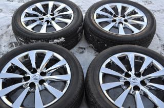 Lexus LS460 Chrome Wheels Rims Tires 2007 2013