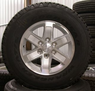 2013 GMC Sierra Yukon 17 Wheels Rims Tires Chevy Silverado Suburban