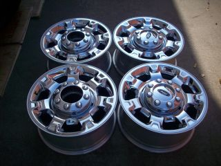 18 Ford F250 F350 Super Duty Factory Chrome Wheels Rims 2013