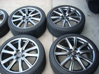 19 2013 Lexus gs350 F Sport Wheels Tires Rims Bridgstone GS450