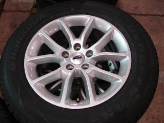 17 Ford Edge 2013 10 Spoke Factory Wheels Rims Tires