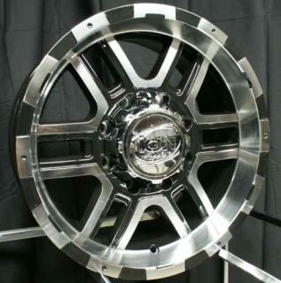 20 ion 179 Wheels Rims Black Ford F250 F350 Excursion