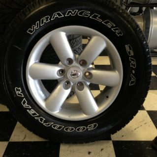 Nissan Titan Wheels and Tires 2012 Take Off Rims Tires 18