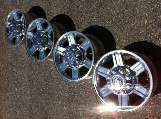 2012 Dodge 2500 RAM Laramie Hemi Cummins Stock Factory 17 Wheels Rims