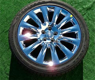 New 2011 2012 Genuine Chrysler 300C Factory Chrome 20 inch Wheels