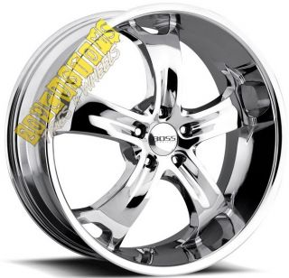 Wheels 329 Chrome Rims Tires 5x115 Chrysler 300 2008 2009 2010