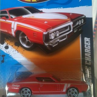 2012 Hot Wheels 71 Dodge Charger Col 085 Red Version