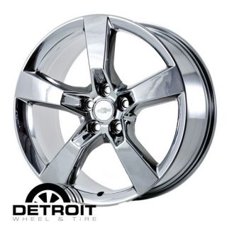 Camaro 2010 2011 PVD Bright Chrome Wheels Rims Factory 5445