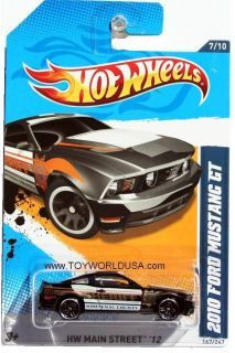 2012 Hot Wheels HW Main Street 167 2010 Ford Mustang GT