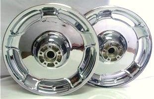 2002 2008 Harley Street Glide FLH Custom Chrome Wheels