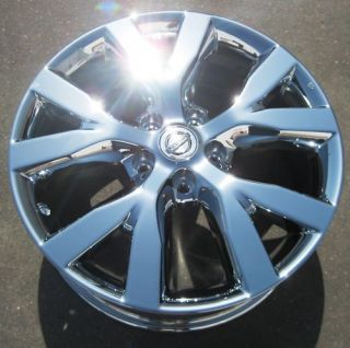 Factory Nissan Murano Chrome Wheels Rims 2011 Exchange Stock