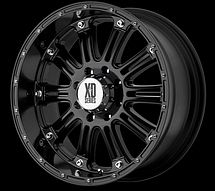 17  Jeep Wrangler Unlimited x Rims Black 2007 2010 New 17x9