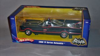 Hot Wheels 1966 TV Series Batmobile 1 18th Scale 2007 Mint in Sealed