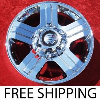 NEW 20 FORD F 250 F 350 HARLEY DAVIDSON OEM CHROME WHEELS RIMS 3605