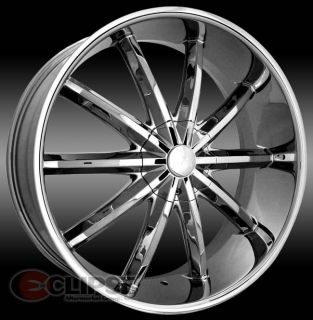 20 inch ELR17 Chrome Wheels Rims Nissan Altima Maxima