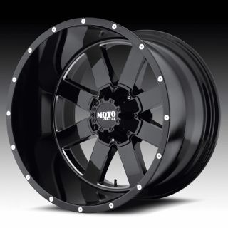 18 inch 18x9 Moto Metal Black Wheels Rims 6x5 5 6x139 7 Titan Xterra