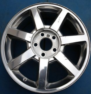 One 04 11 Cadillac cts STS 17 x 7 5 Factory Wheel Rim Polished 4610
