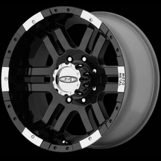 MOTO METAL MO951 6X135 EXPEDITION NAVIGATOR F150 FX4 BLACK WHEELS RIMS