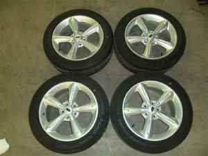10 11 Ford Mustang 18x8 Wheels Rims w Tires Never Used