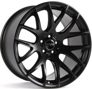 Wheels For Audi A4 Quattro VW Passat CC Rims Set Matte Black Finish