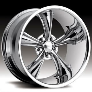 BOSS MOTORSPORTS STYLE 338 CHROME CHALLENGER CHARGER 300C WHEELS RIMS