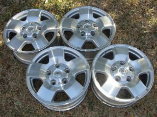 18 Toyota Tundra Sequoia OEM Alloy Wheels Rims Caps 07 08 09 10 11 12