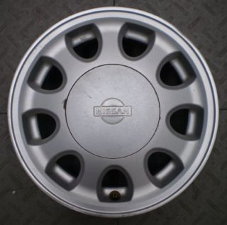 62295 Nissan Sentra NX 13 Factory Alloy Wheel Rim C