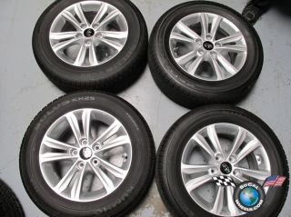 Four 06 11 Hyundai Sonata Factory 16 Wheels Tires Rims OEM 70802