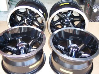 12 B6 Golf Cart 205 30 12 Tire Wheel Kit Dot Approved Complete Kit