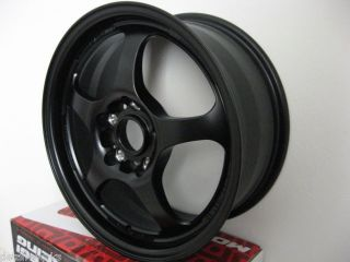Motegi Racing TRAKLITE 16x7 Black RIMS WHEELS 5x100 +40mm MR2388678040