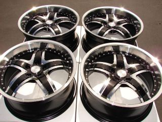Effect Rims Black Ford Explorer Highlander Rx350 Tacoma Alloy Wheels