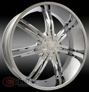 20 inch B14 Chrome Wheels Rims Chrysler 300C 5x115 13