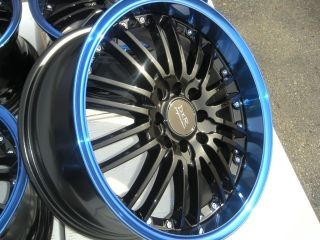16 blue lip Rims Wheels Accent Insight Del Sol Lancer Ion G5 Integra