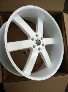 White Rims Tires 6x135 Ford F50 Navigator Expedition 295 25 28