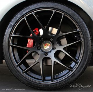Porsche Cayenne Panamera Wheels Rims Turbo s GTS 22 Black in Stock