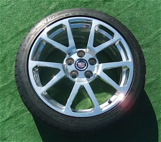 OEM Factory Cadillac CTSV Coupe 19 in WHEELS Michelin PS2 TIRES CTS V