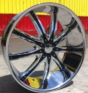 26 INCH WHEELS RIMS 5X115 5X120 BMW CUTLASS MONTE CARLO EXPLORER