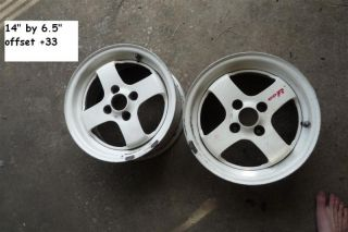 JDM 14 CD R K26 Enkei SSR Wheels Rims Rays Volk TE37