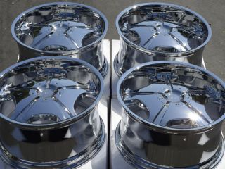65 5x127 Chrome Alias K21 Rims Gmc Yukon Sonoma Chevrolet 5 Lug Wheels