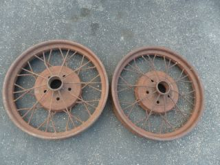 1928 29 Ford Model A Wire Spoke Wheels